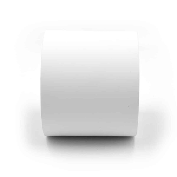 """3"""" Continuous Matte Polypropylene Inkjet Label Roll - 100ft Per Roll 2 Inch Core 4 Inch OD"""