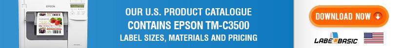 LabelBasic Epson TM-C3500 Label Roll Product Catalogue