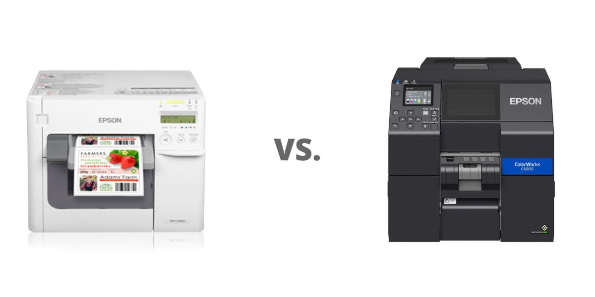 Epson C3500 vs CW-C6000A