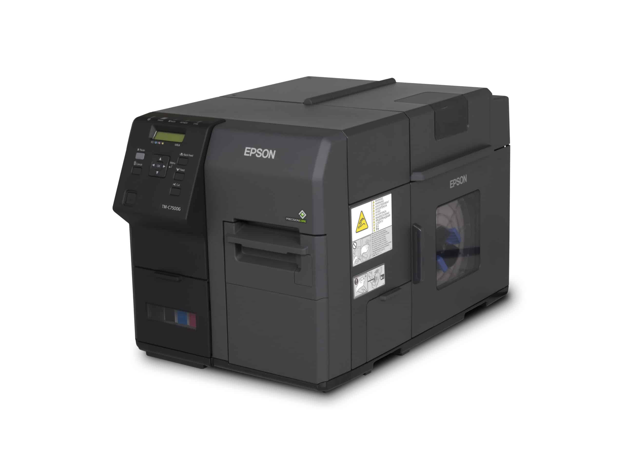 Shop Epson C7500 ColorWorks Color Label Printer at LabelBasic