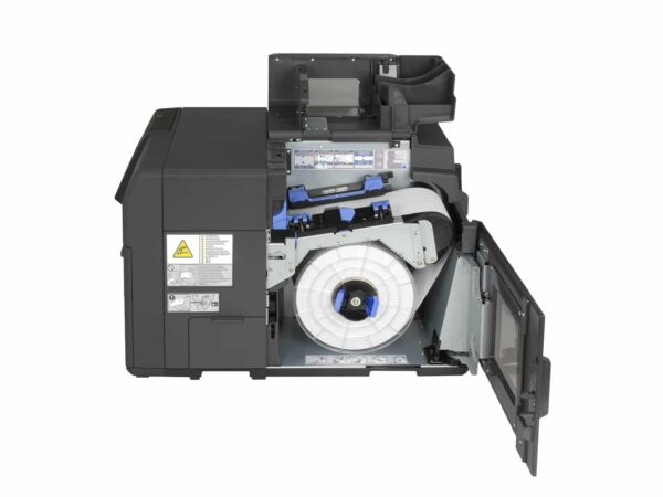 Inside View of Epson ColorWorks C7500 at LabelBasic