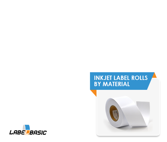 Inkjet Label Rolls by Material