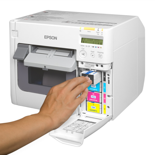 Shop Epson TM-C3500 inks at LabelBasic