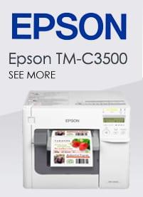 Labels for Epson TM-C3500